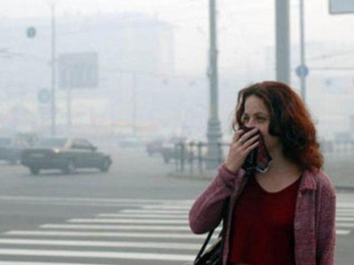 В центре Смоленска загрязненность воздуха оказалась вдвое выше нормы