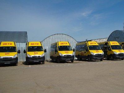 Ребят из глубинки будут возить в школу на новых автобусах