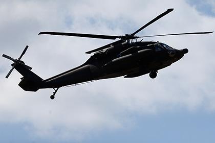 В Японии разбился американский военный вертолет
