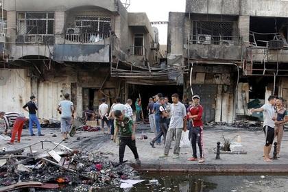 60 человек погибли при взрыве в шиитском районе Багдада