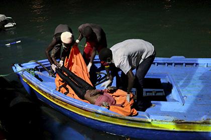 До 200 мигрантов погибли при крушении судна в Ливии