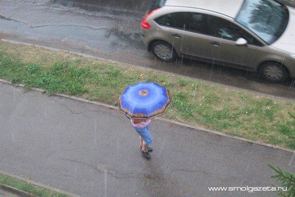 В Смоленскую область придут дожди, правда, пока кратковременные