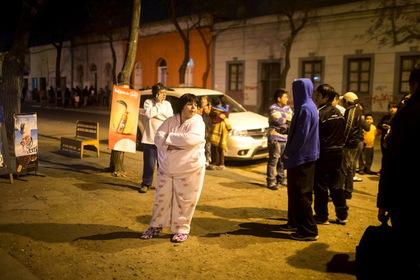 Власти Чили сообщили о первых пострадавших в результате мощного землетрясения