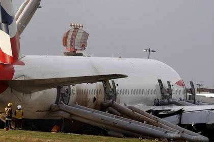 В аэропорту Лас-Вегаса загорелся самолет