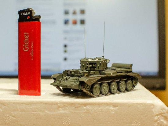 Горожане увидят военные миниатюры на выставке «Мир в масштабе»