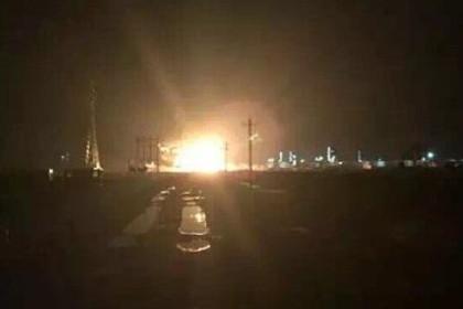 В результате очередного взрыва в Китае погибли пять человек