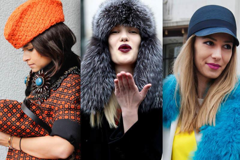 Модные женские головные уборы: осень-зима 2015 г