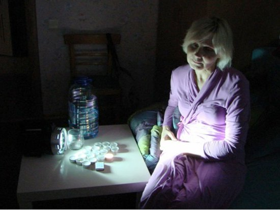 Пенсионерка объявила голодовку из-за отключения электричества