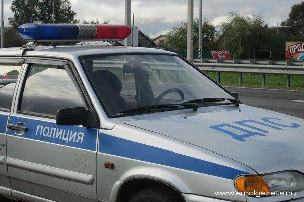 В Смоленске пьяный угонщик разбил чужую машину и ушёл домой