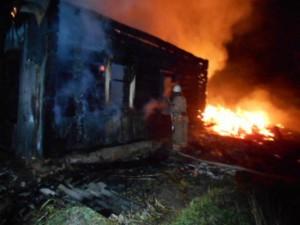 Три человека сгорели на пожаре из-за отсутствия в деревне воды