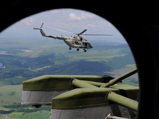 Вертолеты в смоленской воинской части заменили более современными