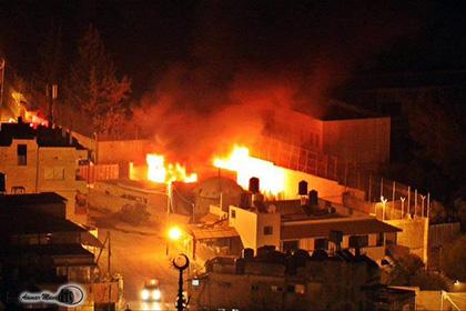 Палестинцы подожгли гробницу Иосифа