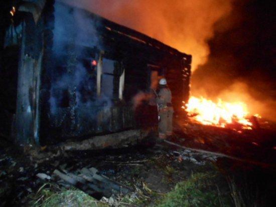 СКР: сгоревшие на пожаре злоупотребляли спиртным