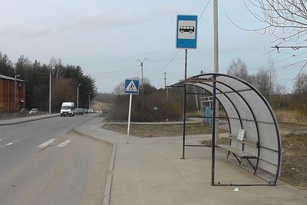 В Смоленске на улице Щорса устанавливают остановки