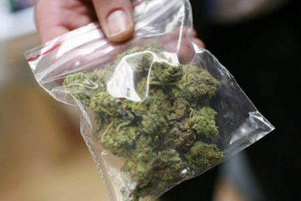 В Смоленске в бардачке машины на Петра Алексеева нашли партию марихуаны