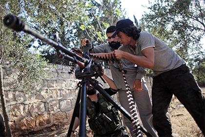 Сирийская оппозиция получила новую партию американского оружия
