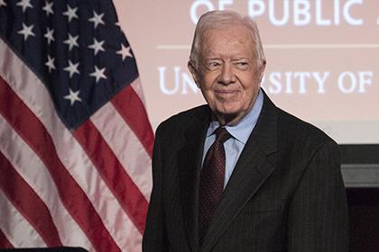 Джимми Картер сообщил России координаты позиций боевиков ИГ в Сирии