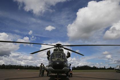 Вертолет ВВС Испании упал в Атлантический океан