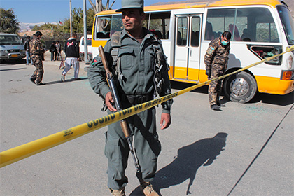 Два террориста подорвались возле российского посольства в Кабуле
