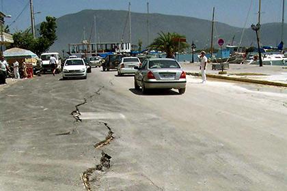 Два человека погибли в результате землетрясения в Греции