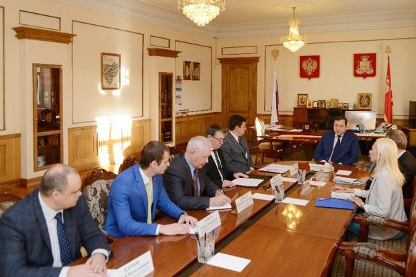 В Смоленске обсудили бюджет области на следующий год