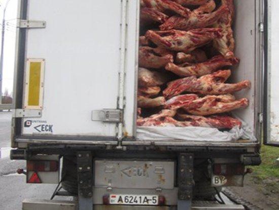Россельхознадзор забраковал 20 тонн белорусской говядины
