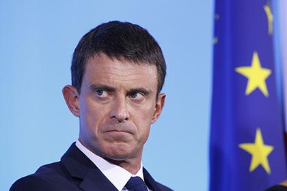 Премьер-министр Франции сообщил о подготовке парижских терактов в Сирии