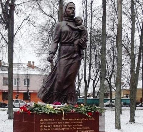Памятники в смоленске 2018 года женщина купить памятник цены Боровицкая