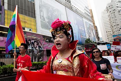 Власти Гонконга отчитались о четырехкратном росте числа транссексуалов
