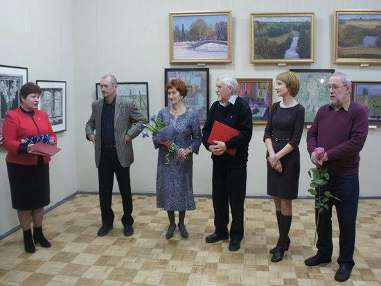В Доме художника открылась персональная выставка Владимира Мальцева