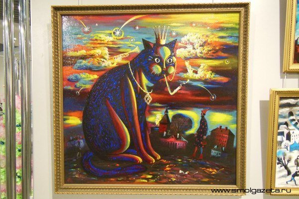 В Смоленске открылась «мурчащая» выставка
