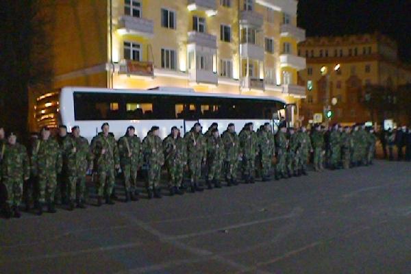 Смоленские полицейские уехали на Северный Кавказ