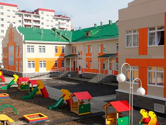 В поселке Красный построят детсад на 150 мест