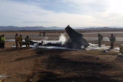 На юге Калифорнии разбился чешский учебно-тренировочный самолет