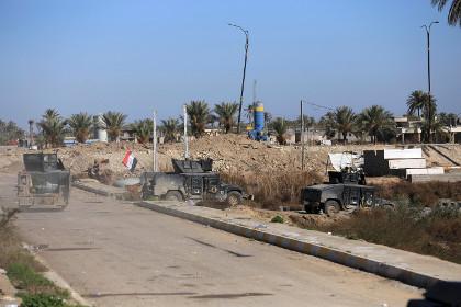 В Багдаде похищены трое американских военнослужащих