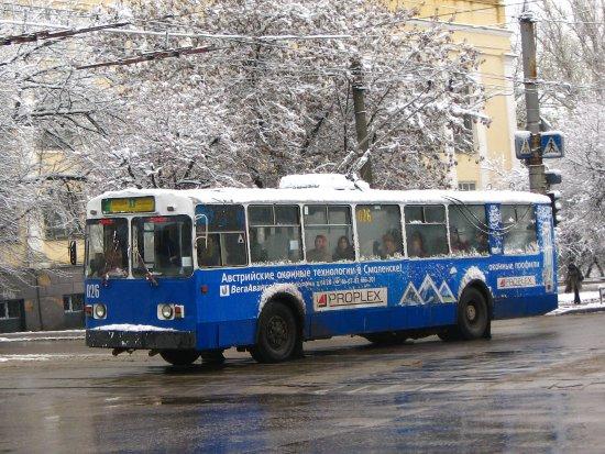 Смоленские транспортники организуют новый маршрут троллейбуса