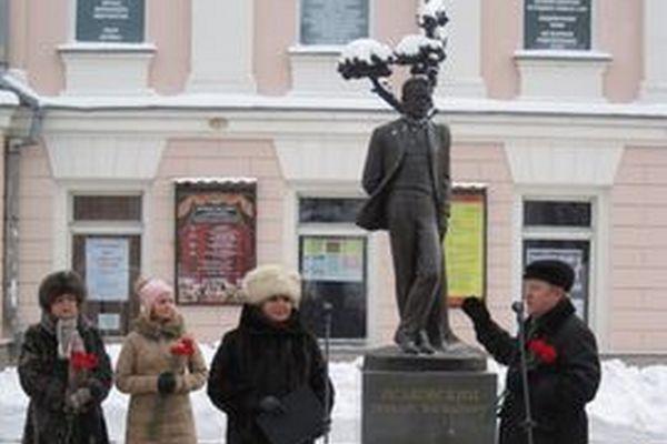 Смоляне отметили день рождения Михаила Исаковского