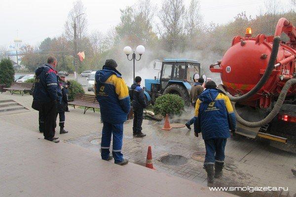 В Смоленске «Квадра» снова оставила горожан без тепла