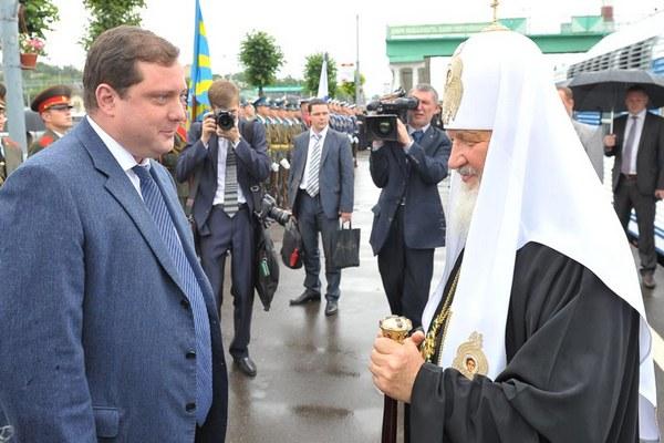 Смоленского губернатора поздравил Патриарх