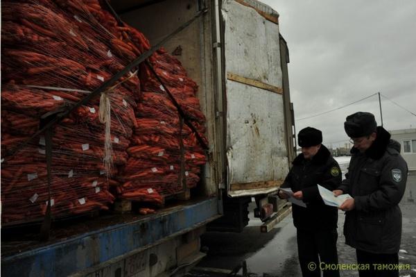 В Смоленскую область не пустили санкционные продукты