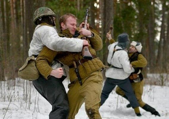 В Смоленской области прошла театрализованная постановка «Слобода партизанская»