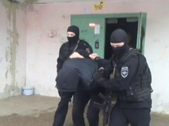 Секстет налетчиков-рэкетиров брали с СОБром в Ярцеве