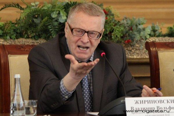 Визит Владимира Жириновского в Смоленск сорвался из-за гриппа