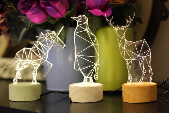 Необычные дизайнерские светильники