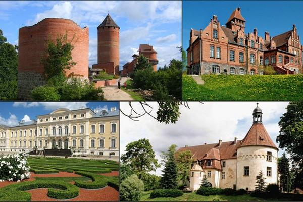 Смоляне смогут увидеть дворцы и замки Латвии