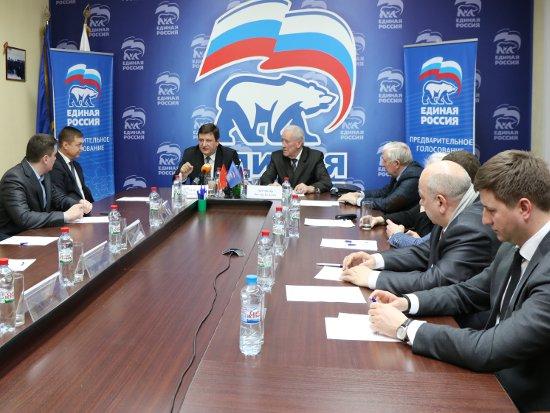 Алашеев отчитался перед однопартийцами за дороги и Масленицу