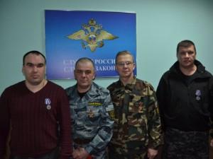 Четырех охранников наградили за достойный отпор грабителям