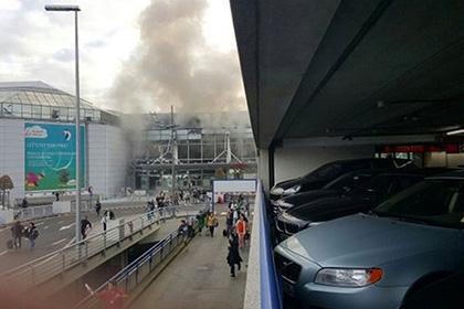 В аэропорту Брюсселя произошли два взрыва
