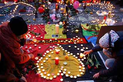 В Брюсселе уточнили число погибших и пострадавших в результате терактов