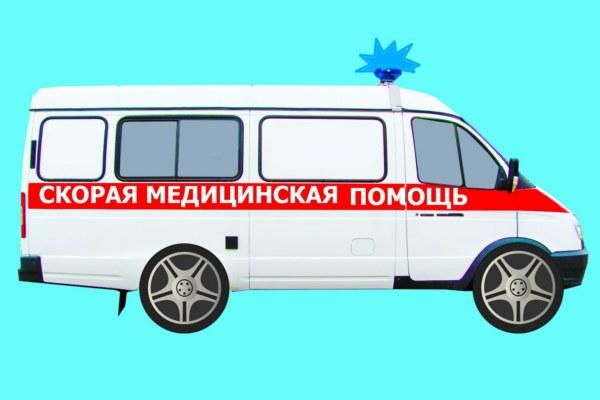 В Смоленске на улице Фрунзе «Скорая» попала в аварию